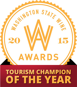 2015 Washington State Wine Tourism Champion of the Year - Yakima Valley